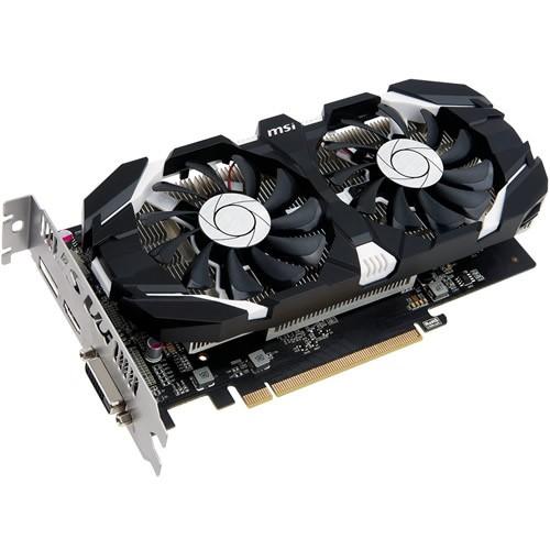 Placa de vídeo VGA MSI  GTX 1050 TI 4GT OC 4GB GDDR5 128Bits 912-V809-2272