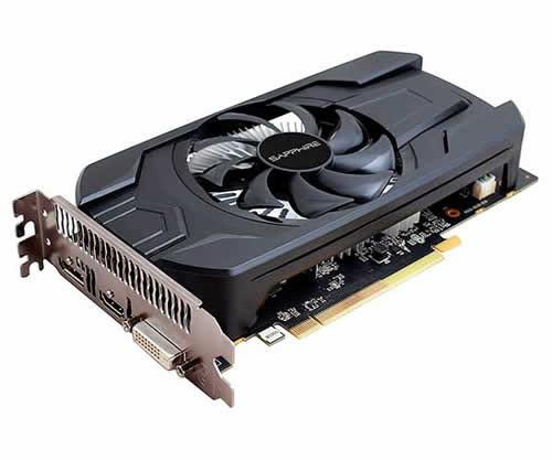 Placa de vídeo VGA Sapphire Radeon RX 550 4GB DDR5 128Bits 11268-01-20G