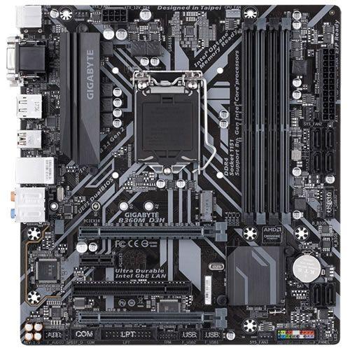 Placa Mãe 1151 Intel GigaByte B360M D3H DDR4