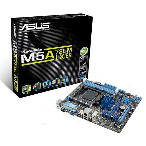 Placa Mãe AM3+ AMD Asus M5A78L-M DDR3 90-MIBFW2-G0XCK1SZ