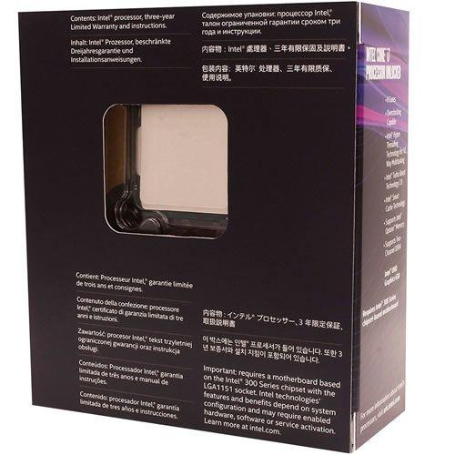 Processador Intel Core i7-8700k 3.7GHz 12MB Coffee Lake 8ª Geração LGA 1151 BX80684I78700K