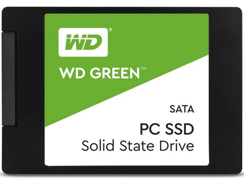 SSD 2.5 SATA3 480GB WD GREEN WDS480G2G0A WESTERN DIGITAL