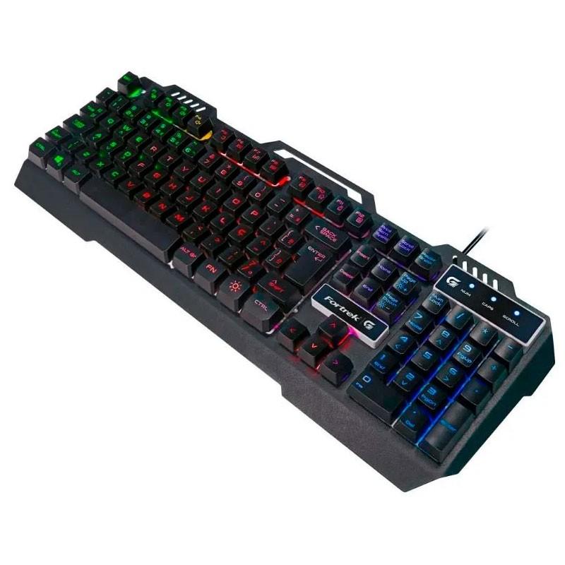 Teclado Gamer Fortrek Crusader RGB 70528