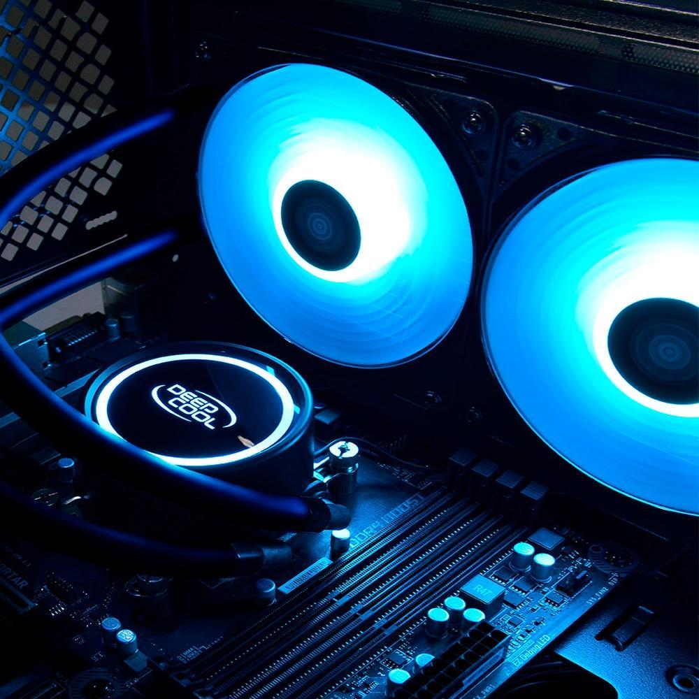 WATER COOLER 240MM GAMMAXX L240T BLUE DP-H12RF-GL240TB DEEPCOOL