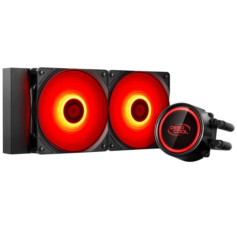 WATER COOLER 240MM GAMMAXX L240T RED DP-H12RF-GL240TR DEEPCOOL