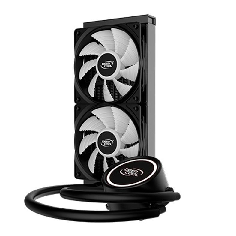 Water Cooler DeepCool Gammaxx L240T White DP-H12RF-GL240TW