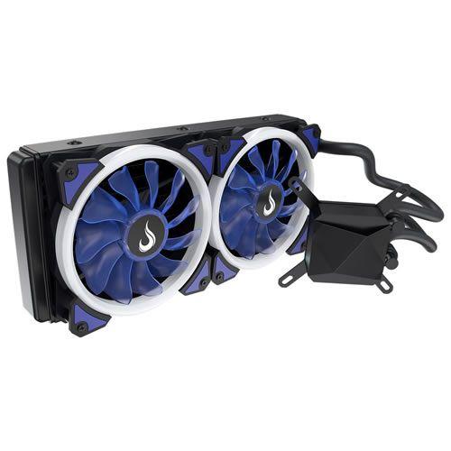 Water Cooler Rise Galaxy GW240 Azul 240MM RM-WC-01-BB