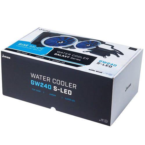 Water Cooler Rise Galaxy GW240 Vermelho 240MM RM-WC-01-BR