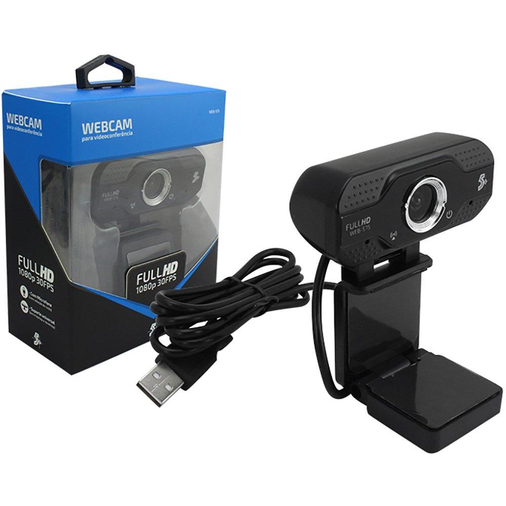 Webcam 5+ Web-S75 Full HD 015-0075
