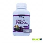 AMORA + ISOFLAVONA 60 CÁPSULAS 500MG - NATHU'S