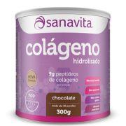 Colágeno Hidrolisado Chocolate -300g - Sanavita