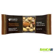 BARRA AMENDOIM & CHOCOLATE 70% 35g - HART'S NATURAL