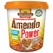 Pasta de Amendoim Crunchy 1kg - DaColônia