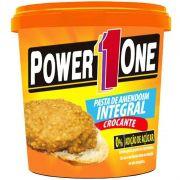 Pasta de Amendoim Integral - Crocante 1kg - PowerOne