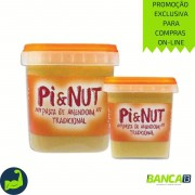 PASTA DE AMENDOIM TRADICIONAL 500g - PI & NUT