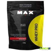 WHEY PRO 1,5KG REFIL - MAX TITANIUM (SABOR A COMBINAR)