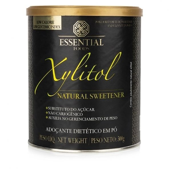 Xylitol - Adoçante Natural 300g - Essential Nutrition