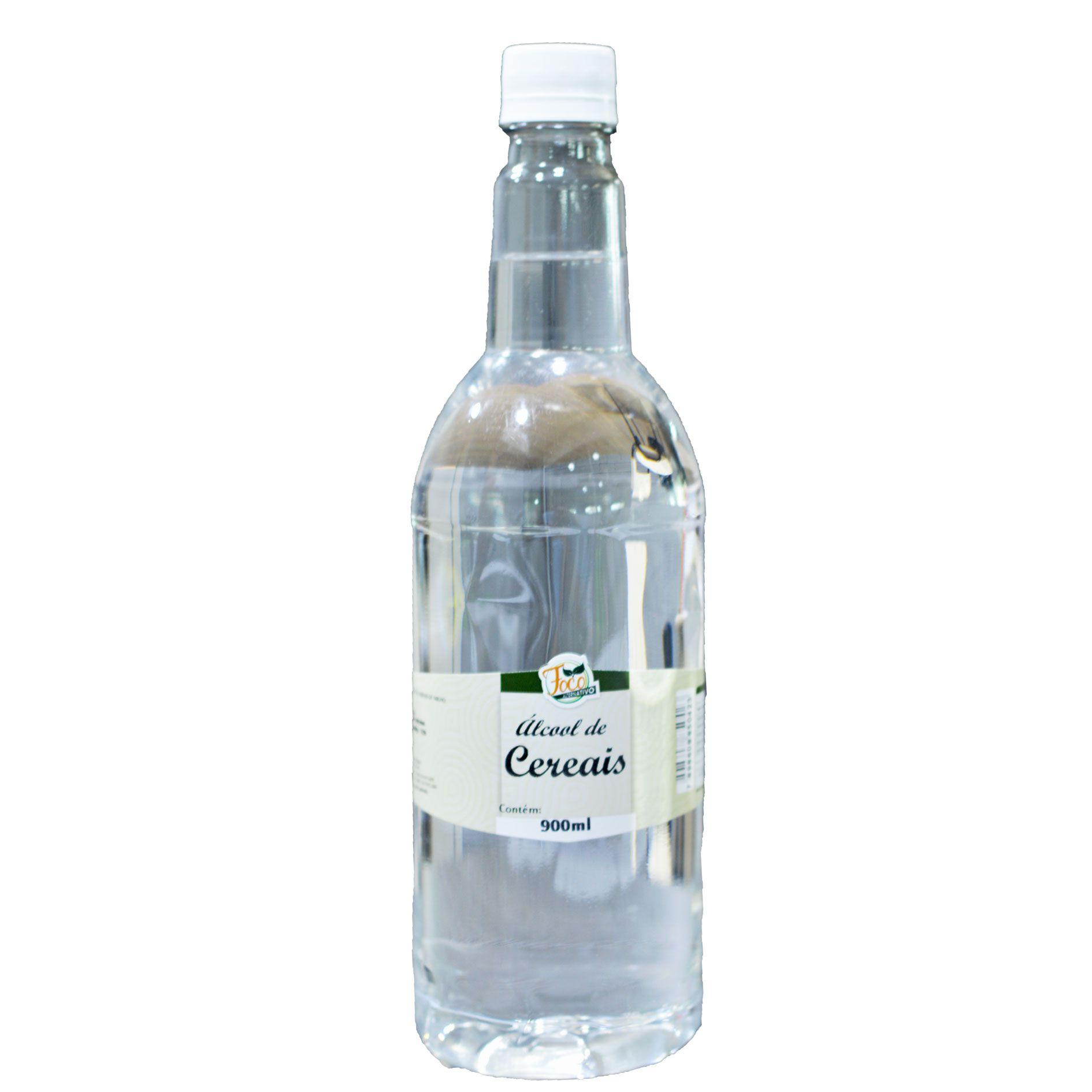 Álcool de Cereais - 900ml  92%