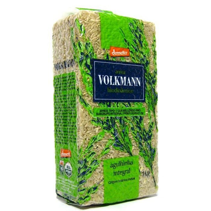 Arroz Biodinâmico Agulhinha - 1kg - Volkmann
