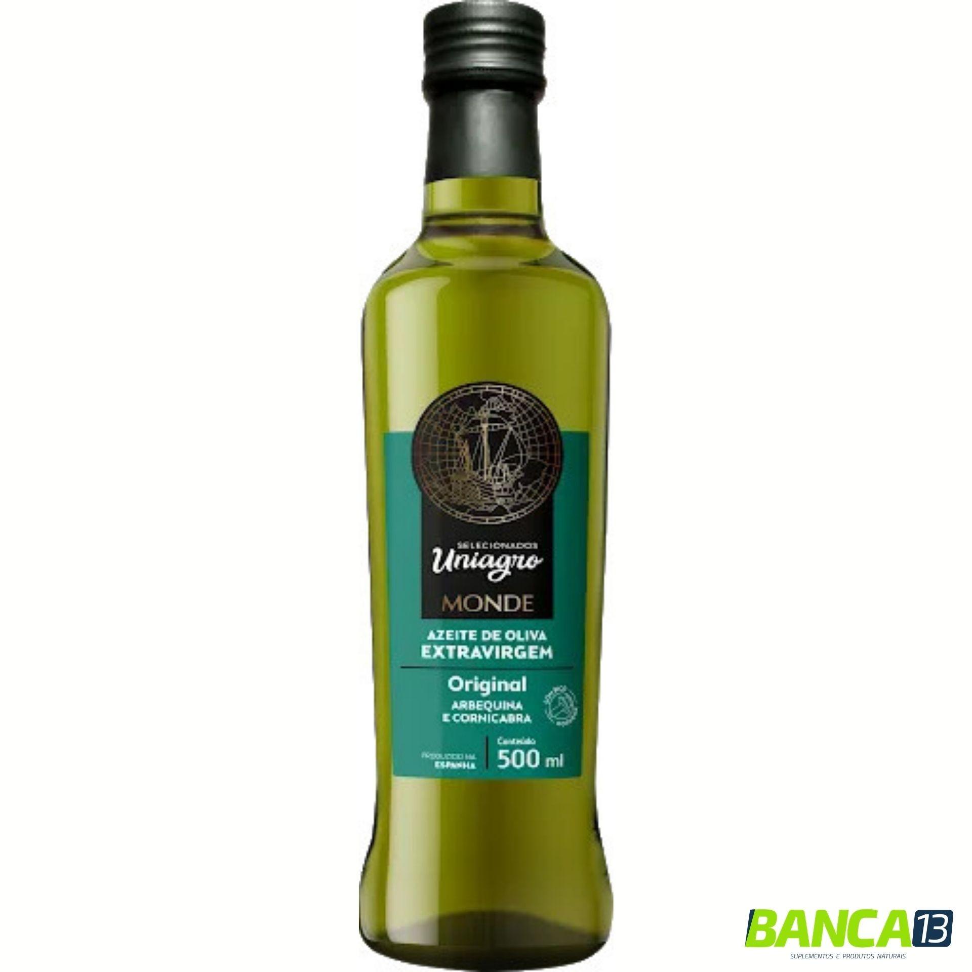 Azeite de Oliva Extra Virgem 500ml - Uniagro