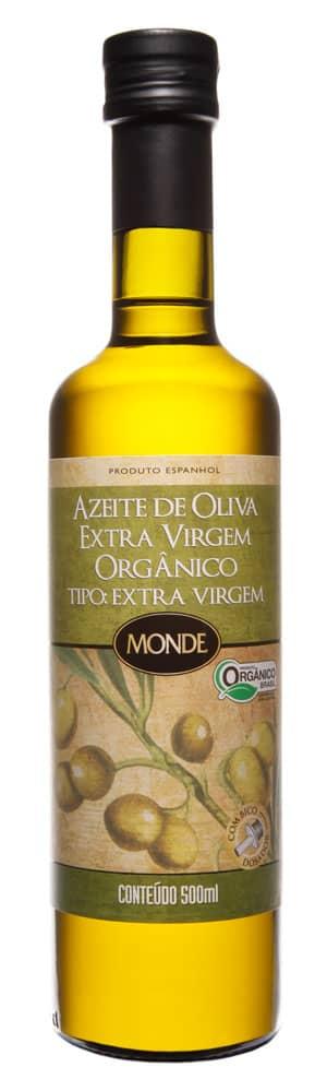 Azeite Espanhol de Oliva Extra Virgem Orgânico Monde 500ml