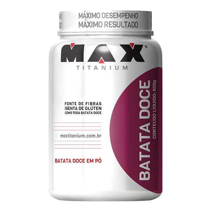 Batata Doce - 600g - Max Titanium