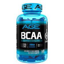 BCAA 1000mg 120caps - Nutrilatina AGE
