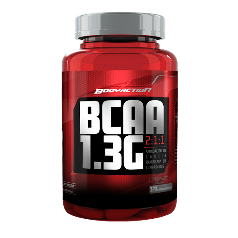 BCAA 1.3g 120 comprimidos - BodyAction
