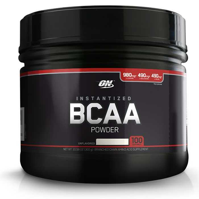 BCAA Powder Black Line - 300g - Optimum Nutrition