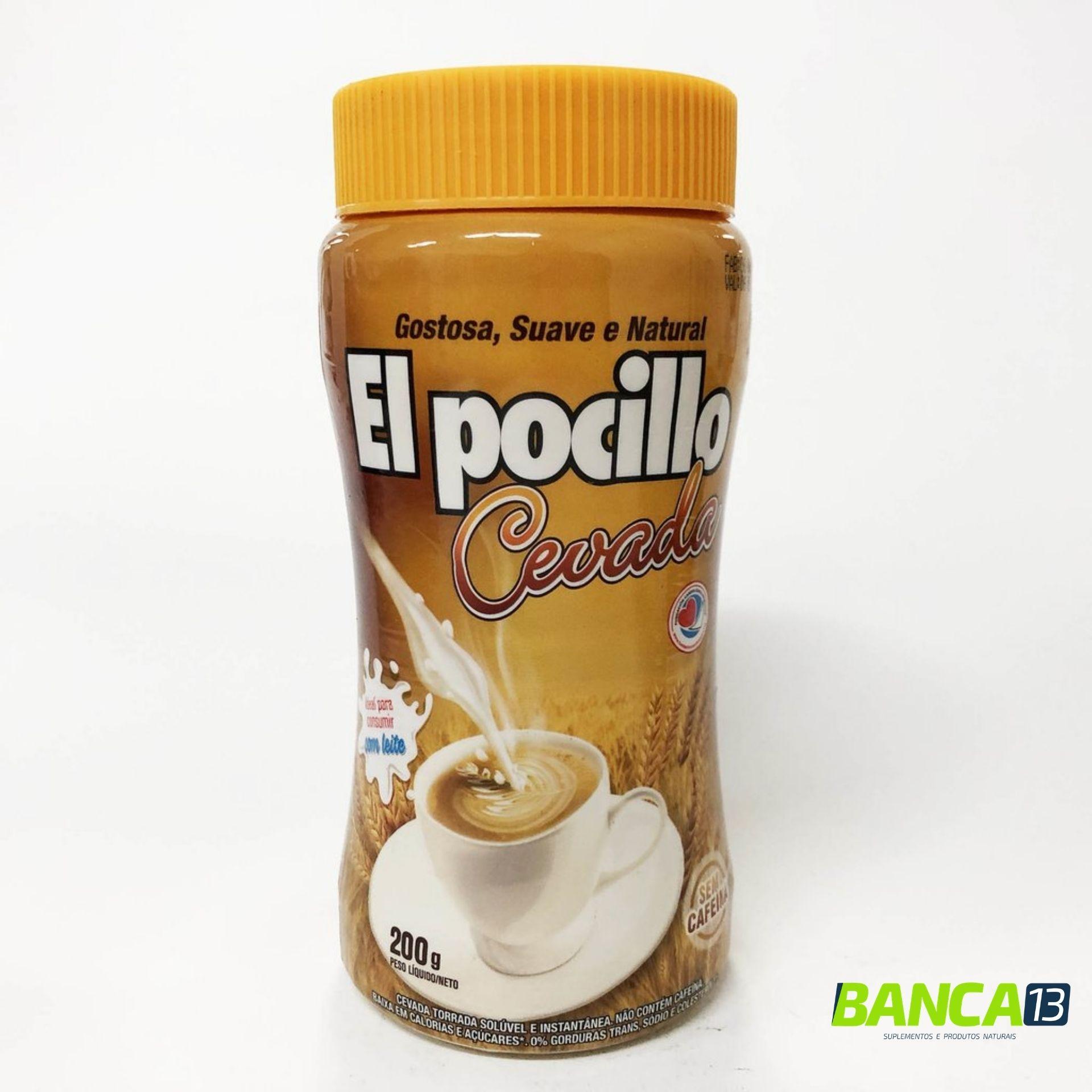 CEVADA SOLÚVEL EL POCILLO 200G