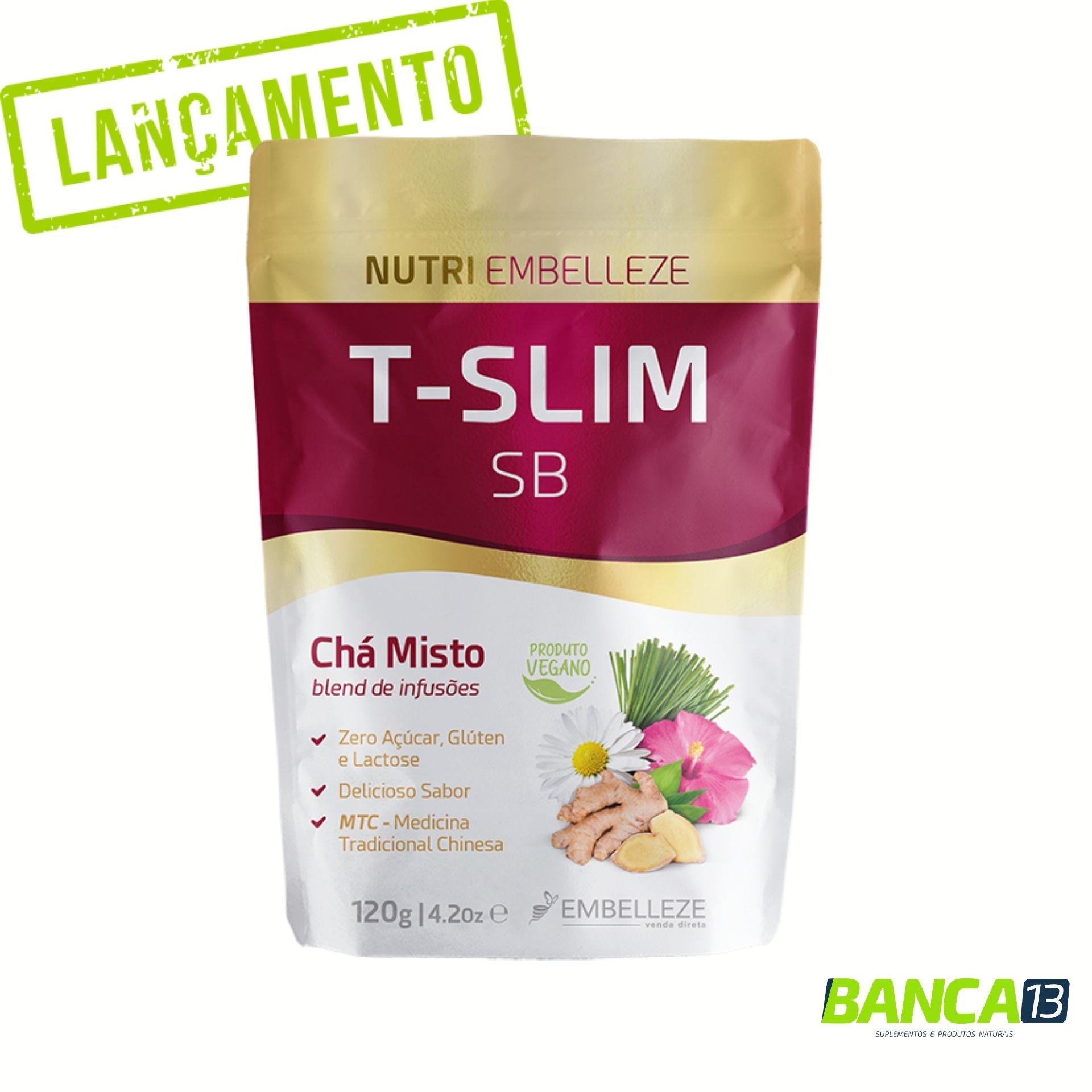 Chá T-Slim SB 120 g - Embelleze