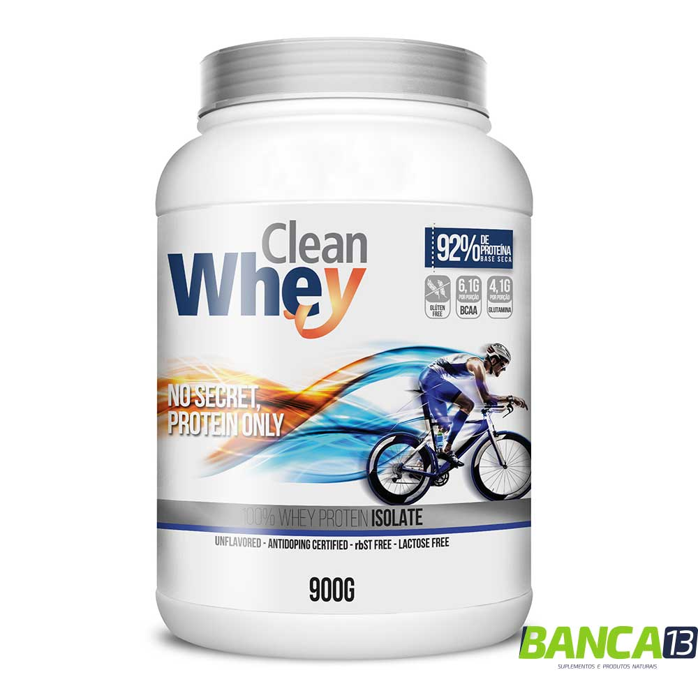 Clean Whey Isolado - 900g - Glanbia