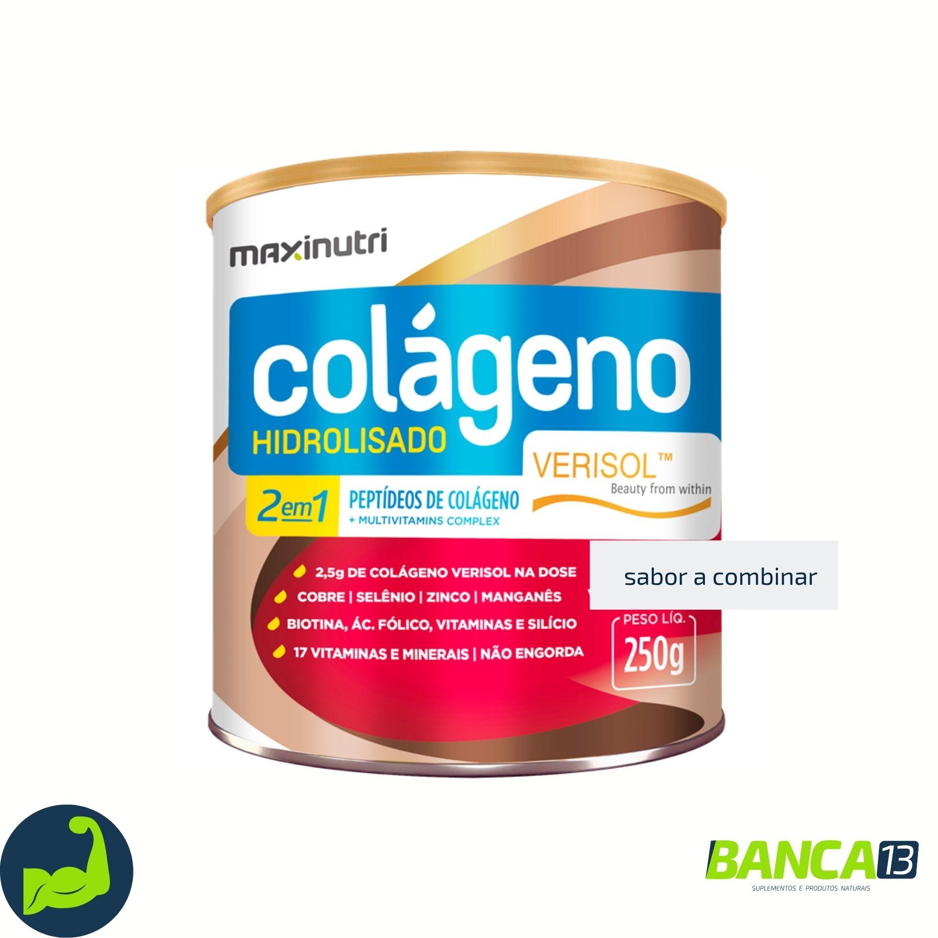 COLÁGENO VERISOL 250g - MAXINUTRI
