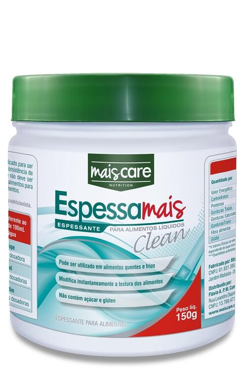 Espessante Espessa Mais Clean 150g - Mais Care