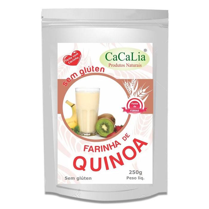 Farinha de Quinoa - 250g - CaCaLia