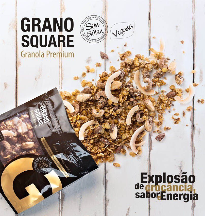 GRANOSQUARE - Granola Premium - 200g