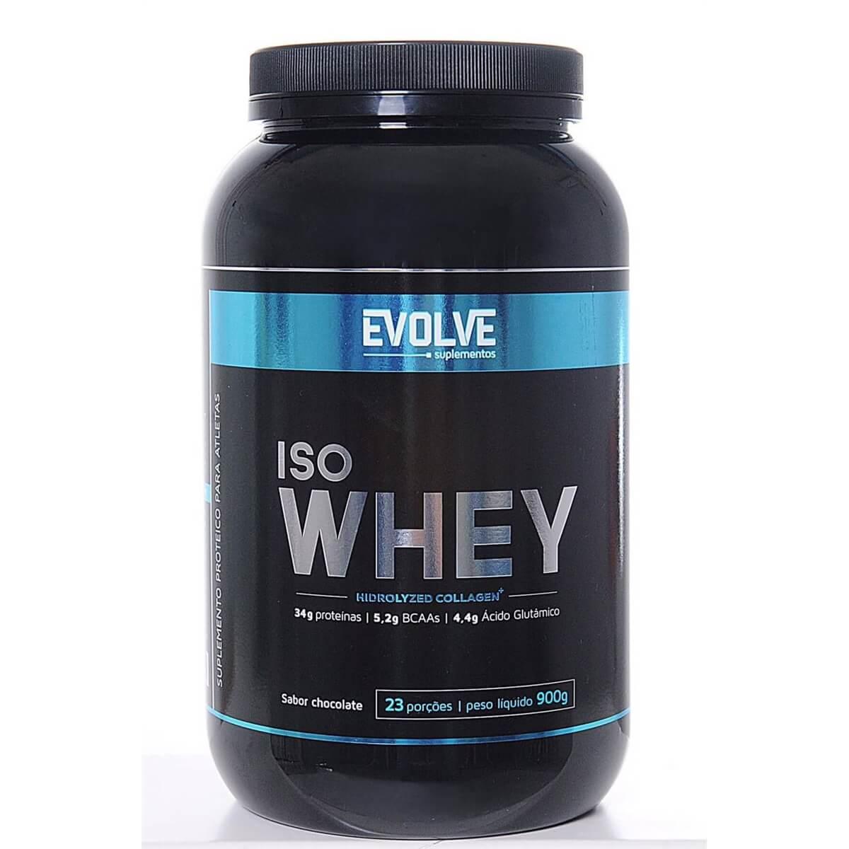 ISO Whey - 900g - Evolve Suplementos