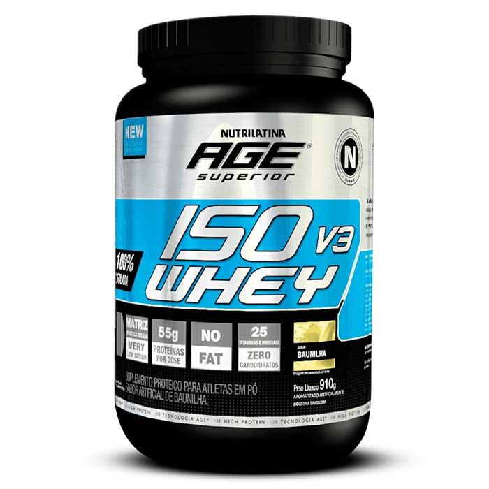 ISO Whey V3 - 910g - Nutrilatina