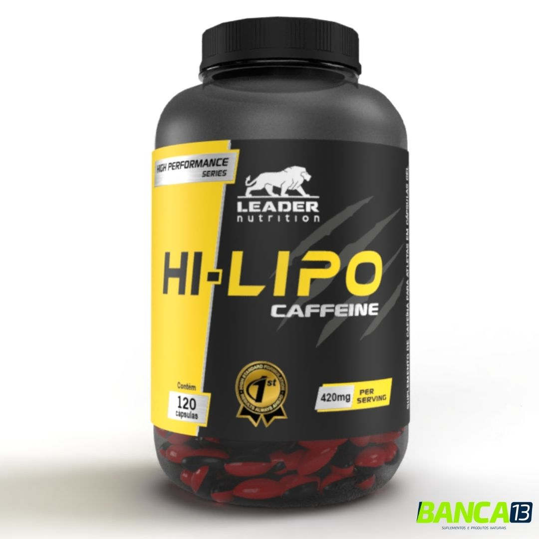 LIPO CAFFEINE 120CAPS - LEADER NUTRITION