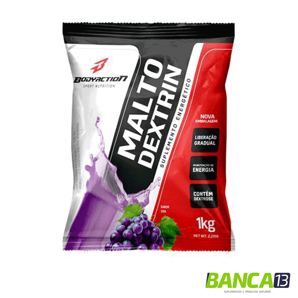 Maltodextrin - 1000g - BodyAction