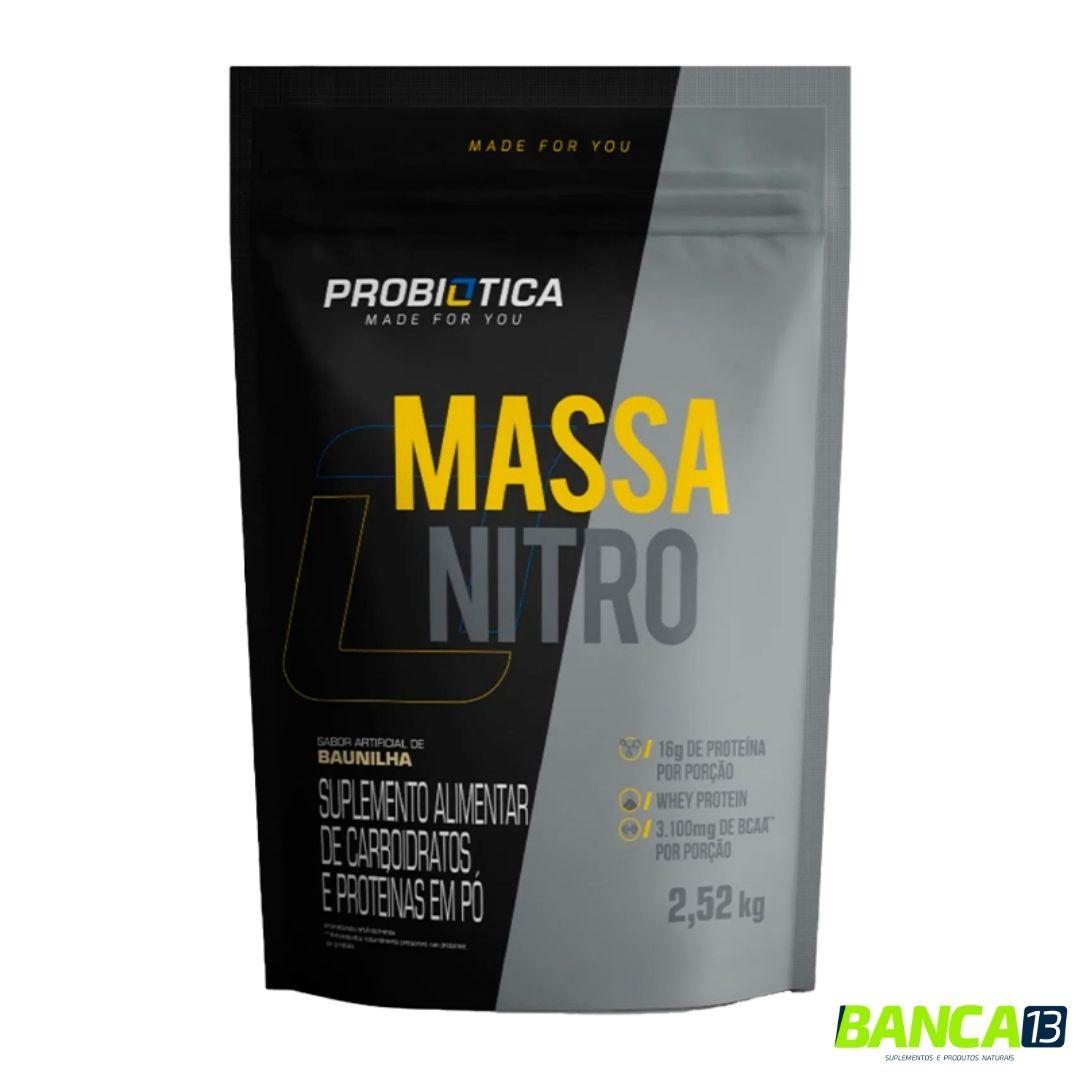 MASSA NITRO 2,52KG - PROBIÓTICA (SABOR A COMBINAR)