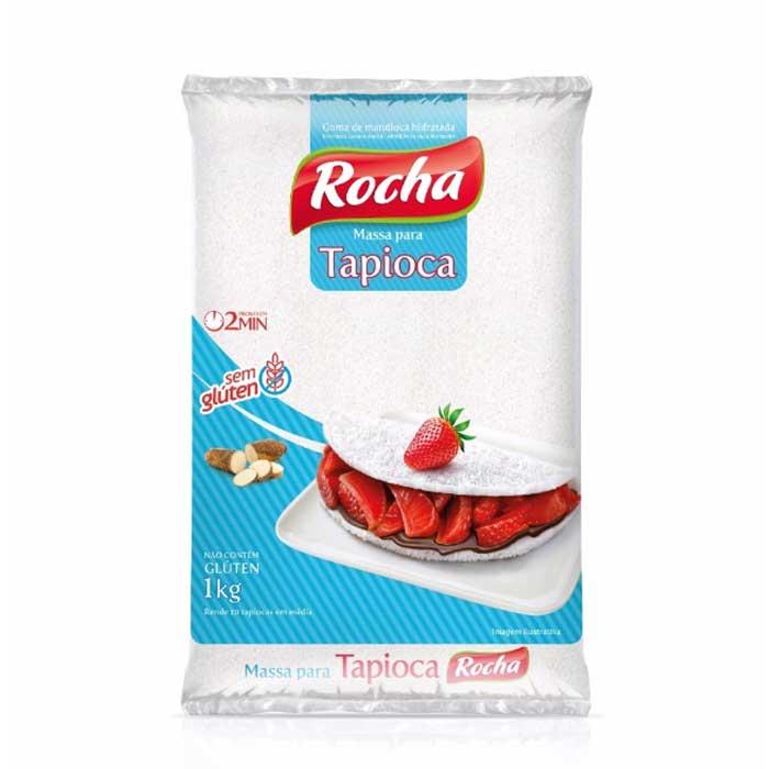 Massa Pronta para Tapioca - 1000g - Rocha