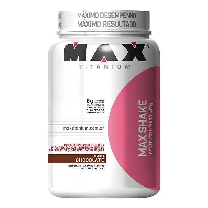 Max Shake - 400g - Max Titanium - SABORES A COMBINAR