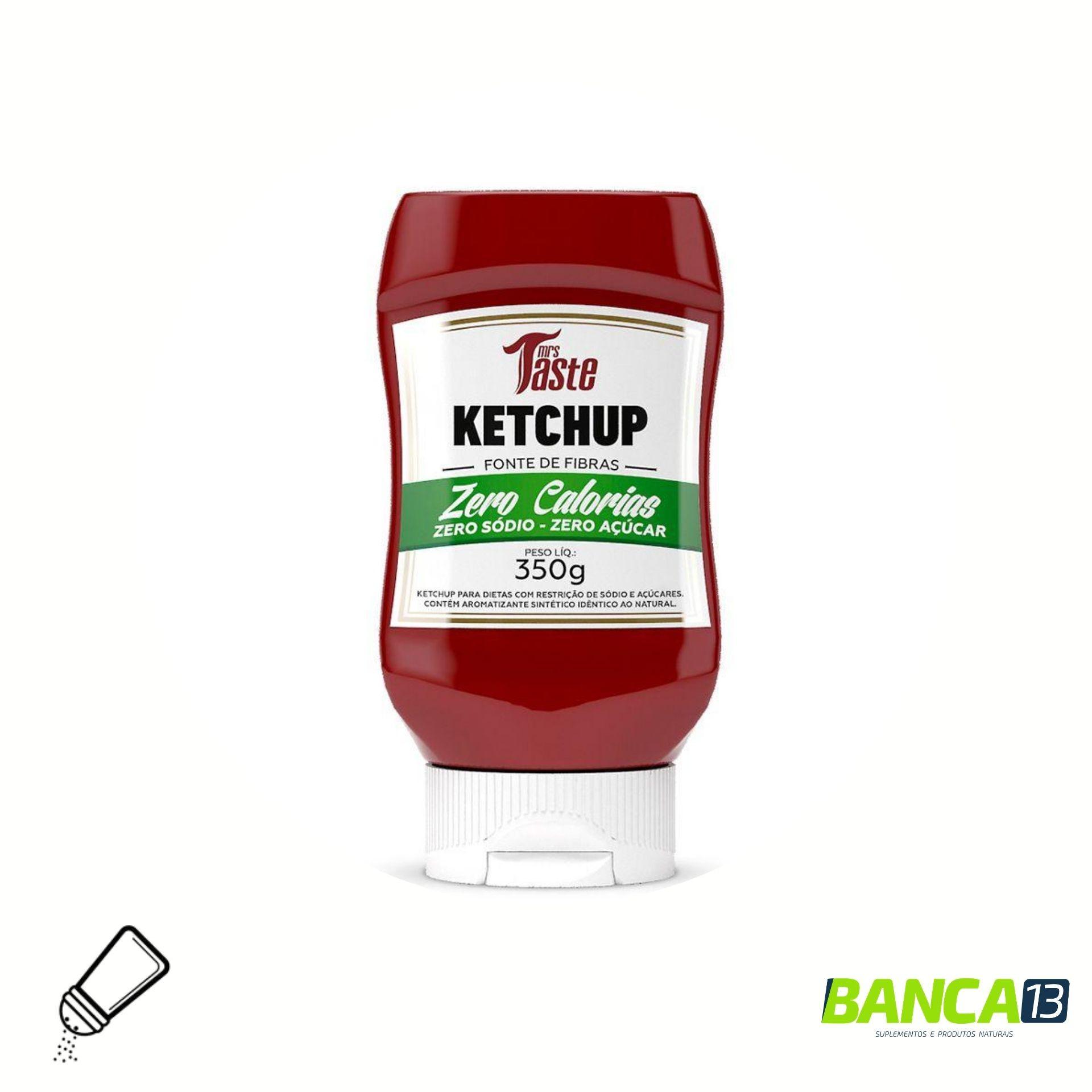 MOLHO KETCHUP (350G) - MRS TASTE