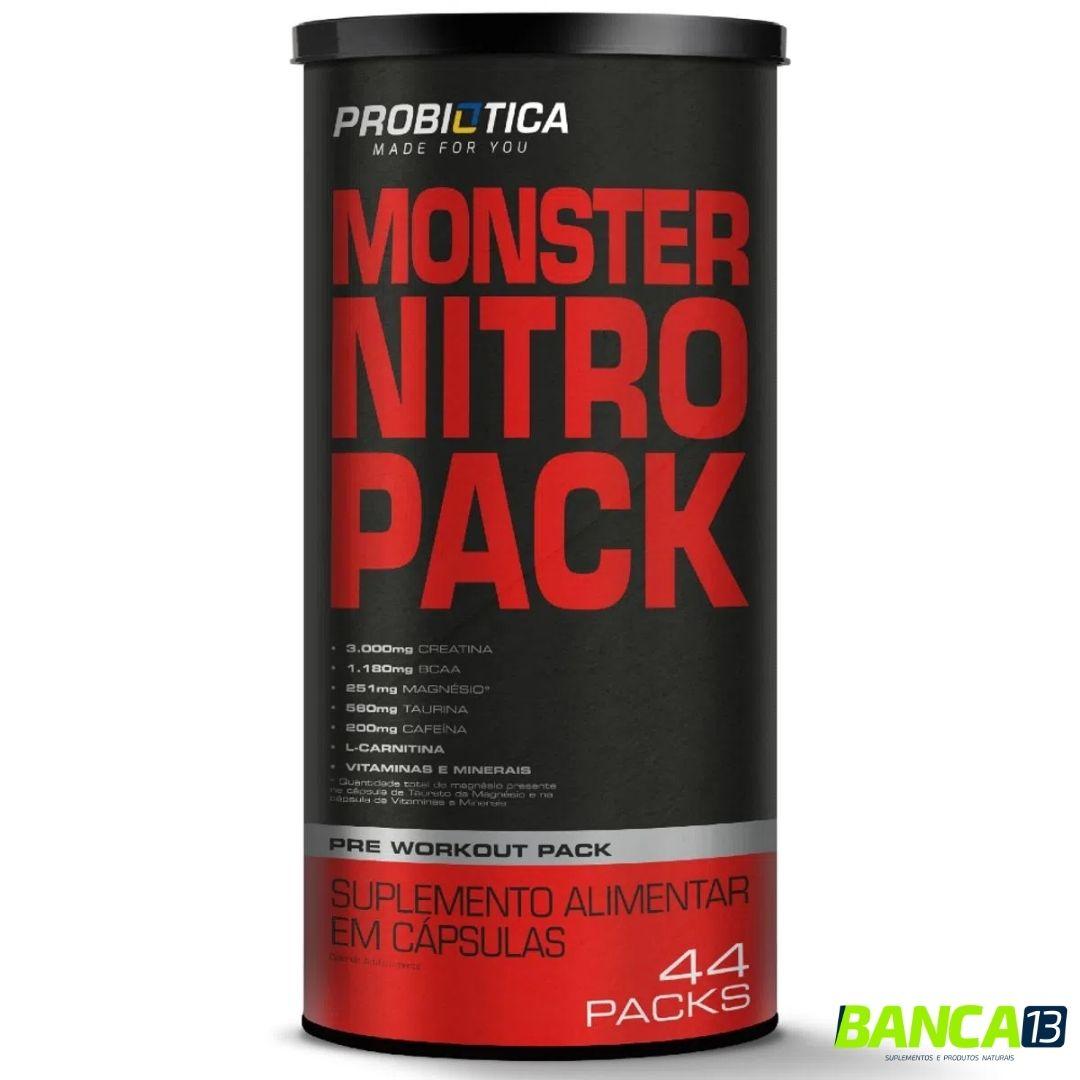 MONSTER NITRO PACK 44 PAKS - PROBIÓTICA