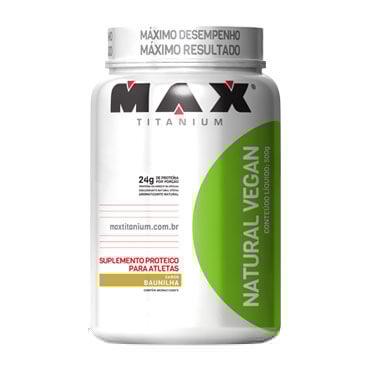 Natural Vegan - 500g - Max Titanium