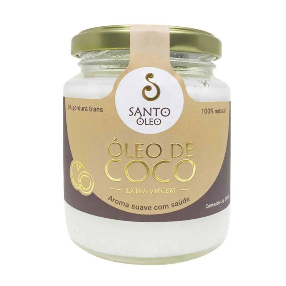 óleo de coco 500ml Santo Óleo