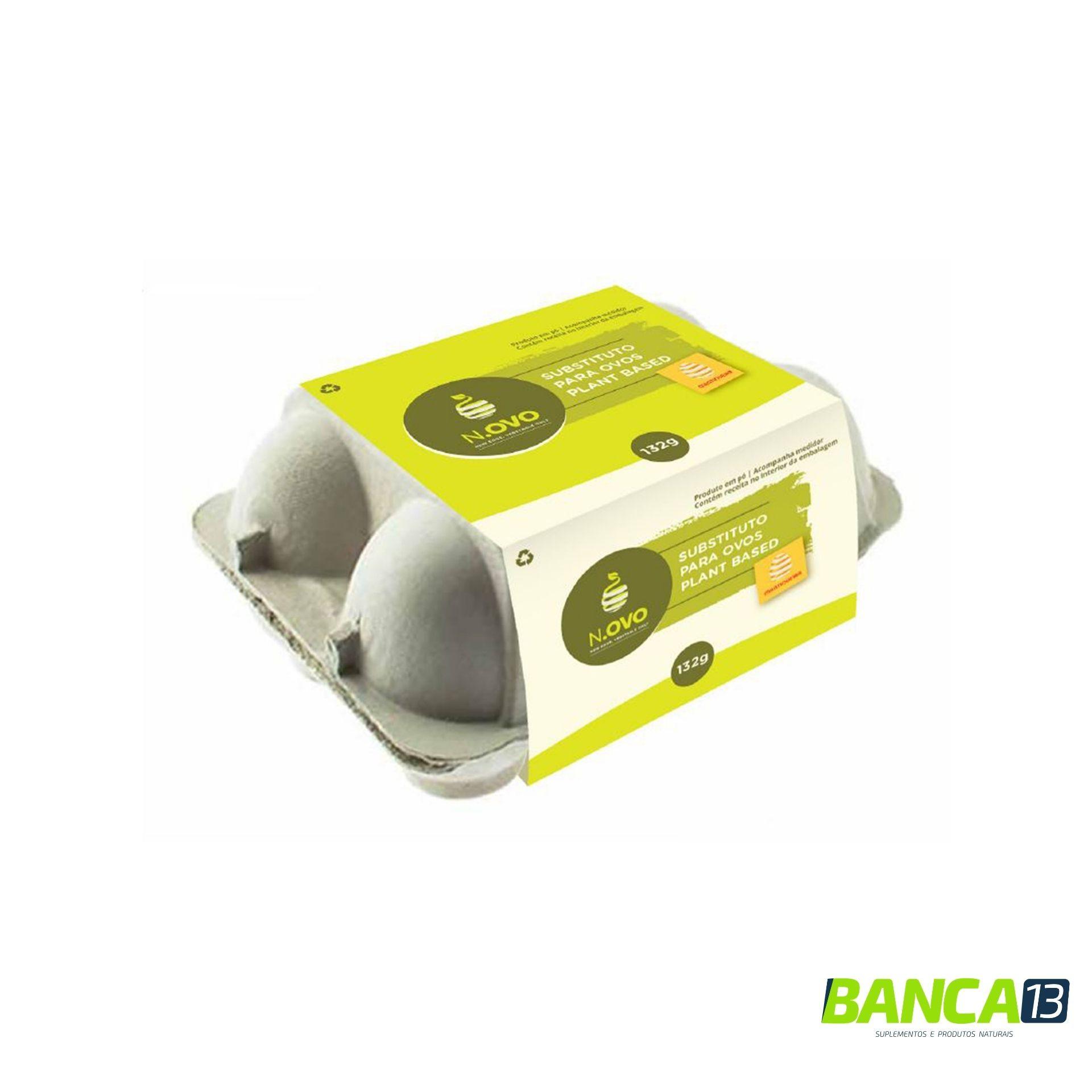OVO VEGANO 132G - N.ovo – Substituto para Ovos Plant Based