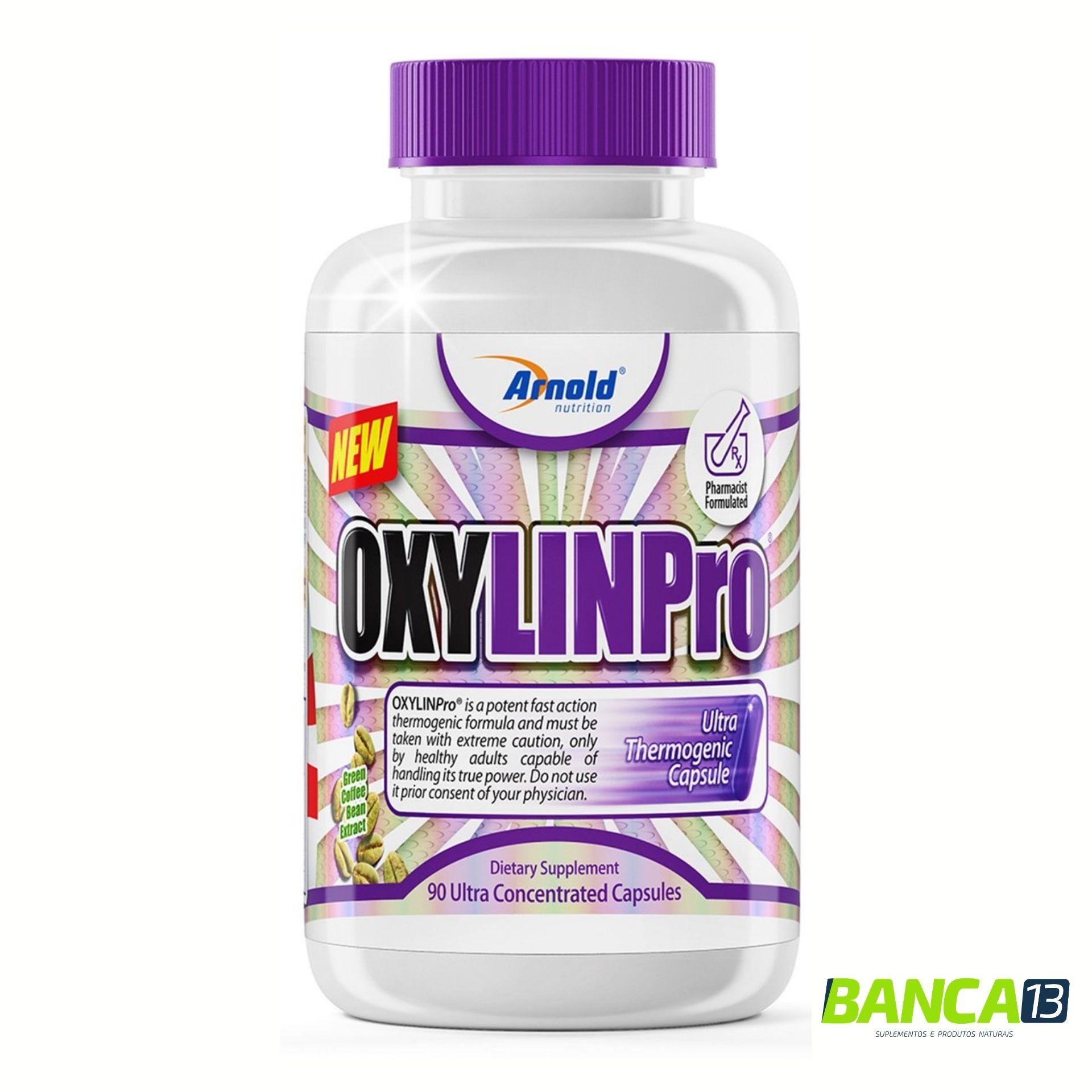 OXYLIN PRO 90 CÁPSULAS - ARNOLD NUTRITION