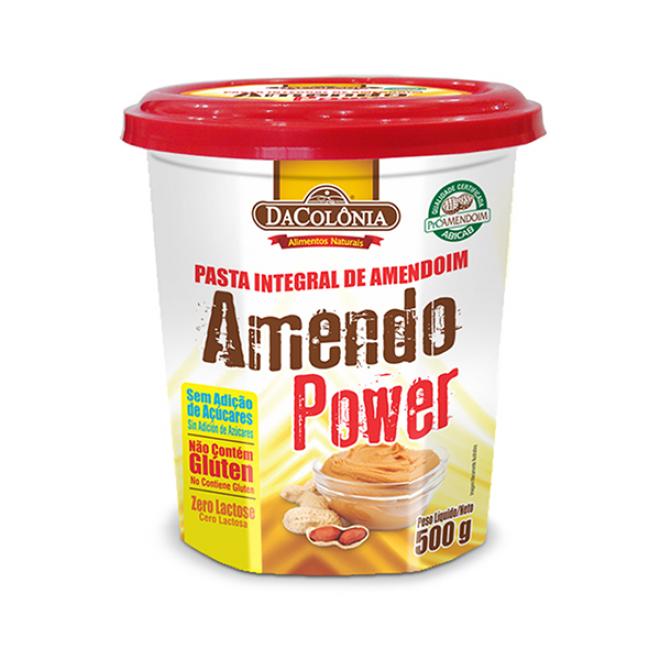 Pasta de Amendoim Integral - Tradicional 500g - DaColônia